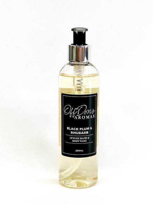 Black Plum & Rhubarb Hand & Body Wash