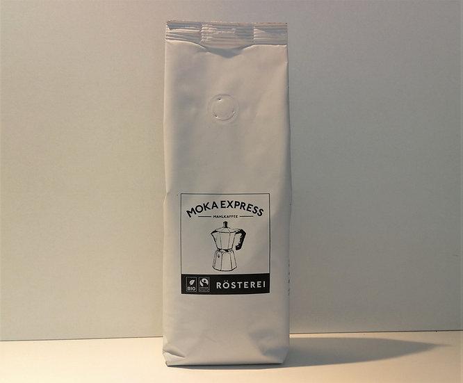 Moka Express Bio Fairtrade Mahlkaffee