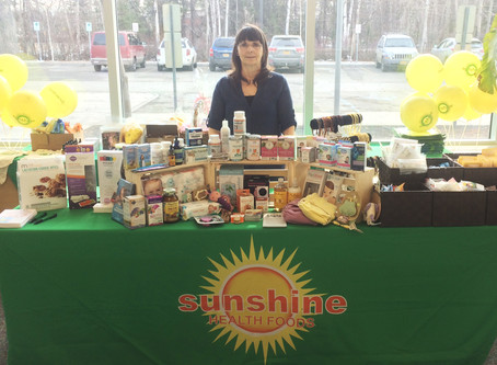 Sunshine will be at the Baby Expo this Saturday giving away all kinds of prizes.