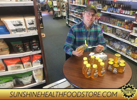 Lingonberry Farm will be at Sunshine showing off their honey on April 8th