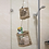 Thumbnail: 2-Tier Woven Wall Hanging Baskets for Storage and Plant Pot Holder