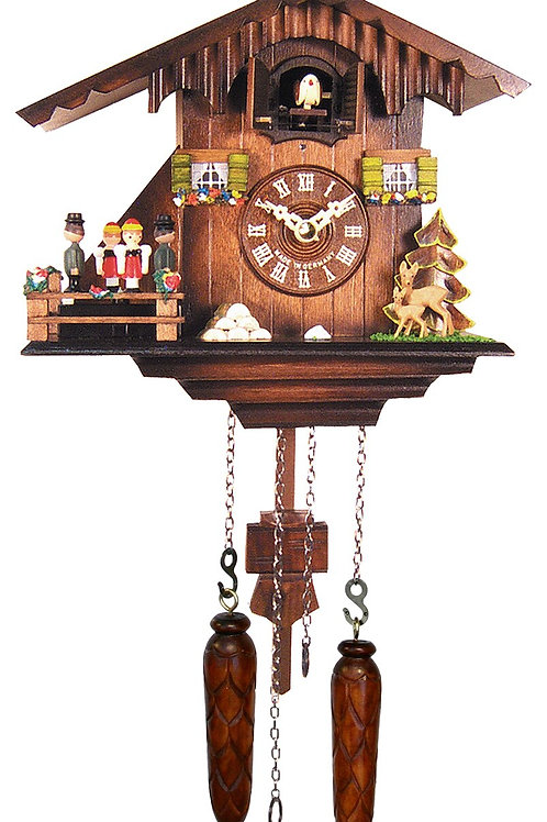 Engstler Battery-operated Cuckoo Clock - Dancers