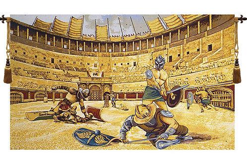 Gladiators Italian Wall Hanging Tapestry