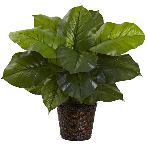 Large Leaf Philodendron Silk Plant (Real Touch) #6582
