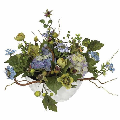 Hydrangea Centerpiece (Silk)