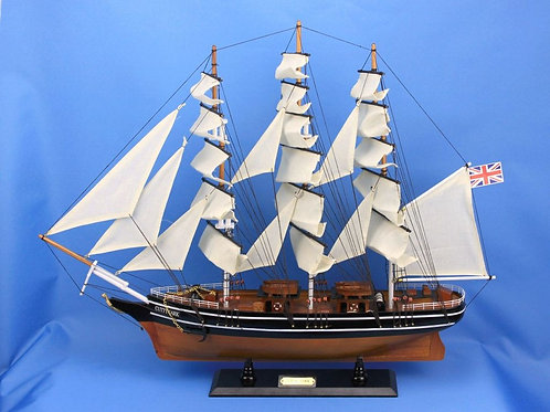 Wooden Cutty Sark Tall Model Clipper Ship 24""