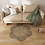 Thumbnail: Natural Fiber Seagrass Wicker Rug Flower Shaped for Home Decoration