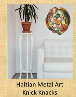 Haitian Metal Art