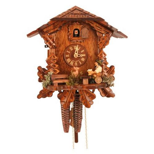 Engstler Weight-driven Cuckoo Clock One DayMovement - Chalet Clock En