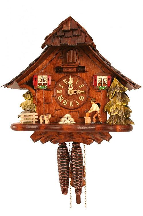 Engstler Weight-driven Cuckoo Clock - Woodchopper