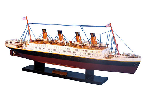 """RMS Titanic Limited Model Cruise Ship 20"""" long (1:530 scale)"""