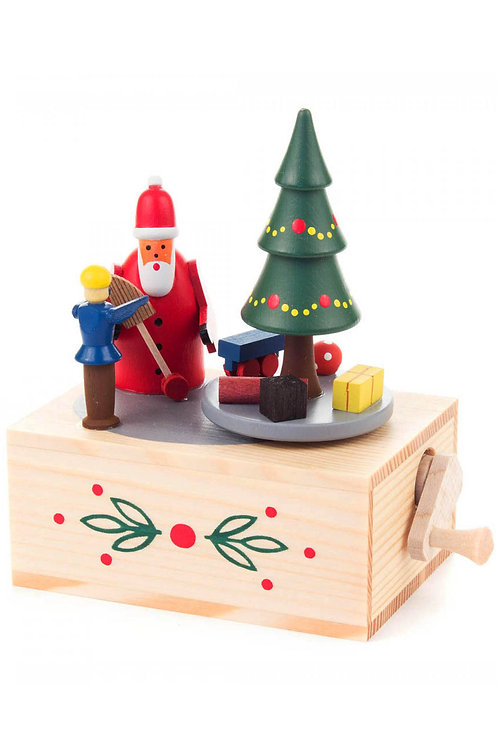 Dregeno Music Box - Santa & Christmas Tree
