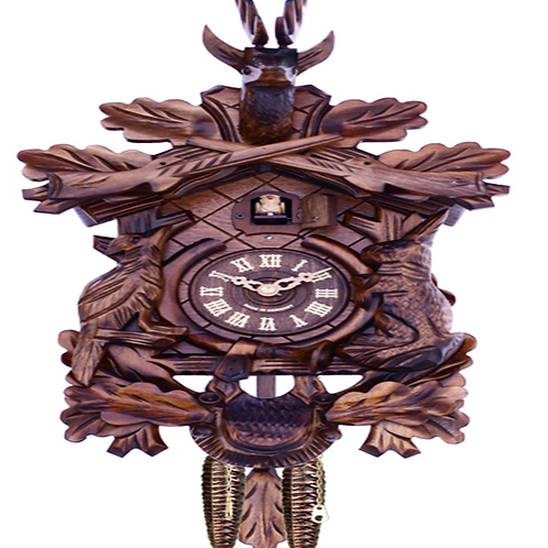 HuntersStyle Quartz Movement Cuckoo Clock #819-16Q