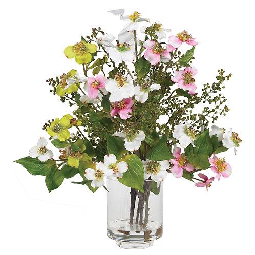 Dogwood Silk Flower Arrangement (Silk)