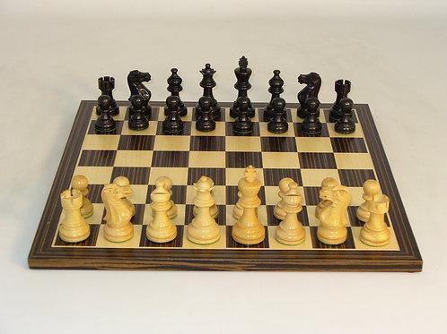 Black American Emperor Set by WW Chess 30BAE-EBC