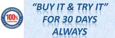 Buy it & Try it - 30 days