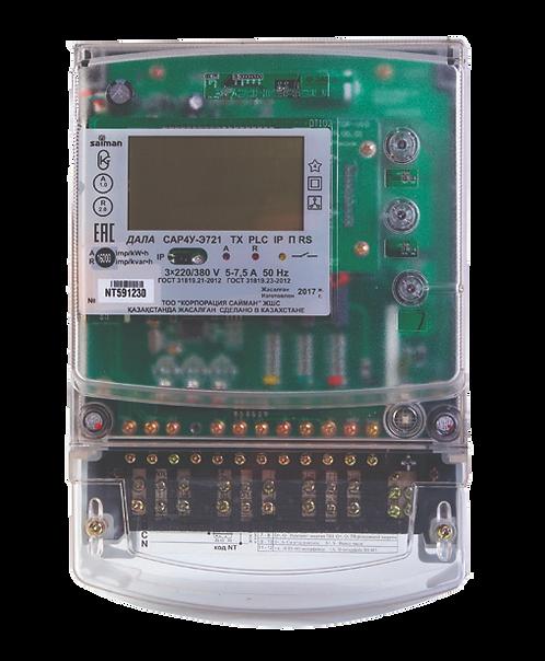 Электрический счетчик трехфазный многотарифный ДАЛА САР4У-Э721 ТХ PLC IP П RS NT