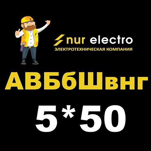 Кабель АВБбШвнг 5*50