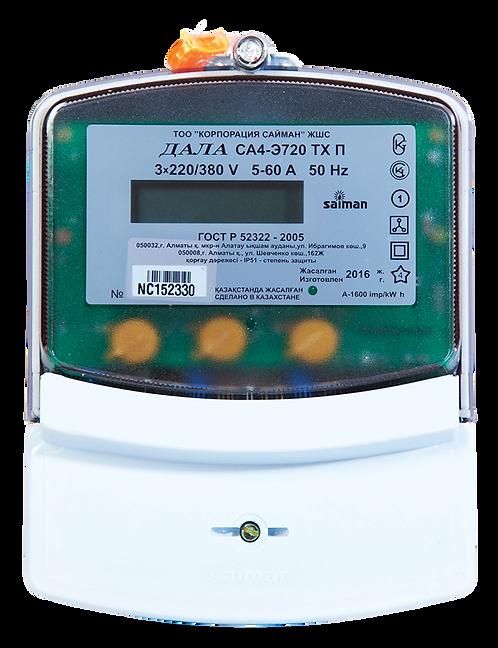 Электрический счетчик трехфазный многотарифный ДАЛА СА4У-Э720 ТХ П КОД NF