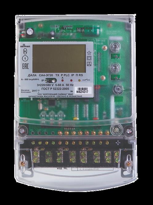 Электрический счетчик трехфазный многотарифный ДАЛА СА4-Э720 ТХ Р PLC IP П RSNI