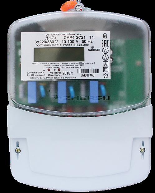 Электрический счетчик трехфазный ДАЛА САР4-Э721 Т1 Код LM