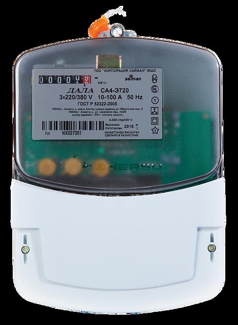 Электрический счетчик трёхфазный однотарифный ДАЛА СА4-Э720 КодNХ
