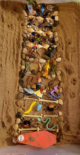 Polyvagal Mapping in Sandtray