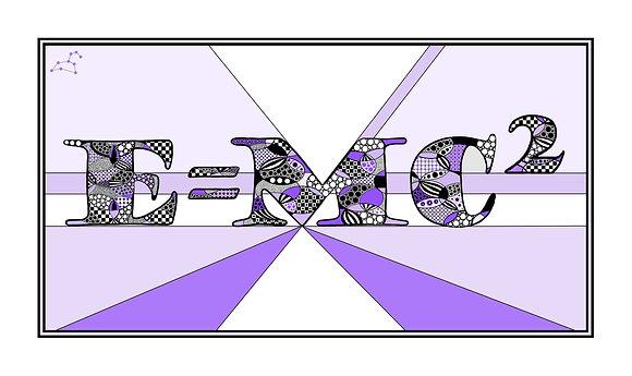 E=MC2 Lilac