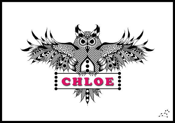Owl Nameplate