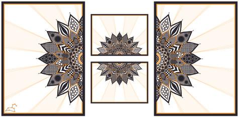Sunflower Triptych