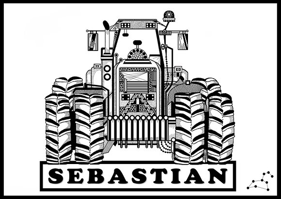 Tractor Nameplate