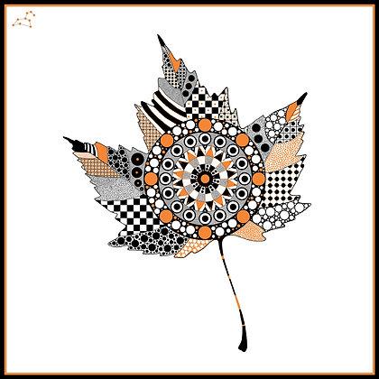 Leaf - Orange
