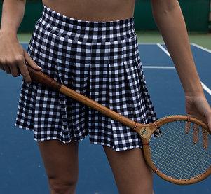 Shorts-saia Celine Xadrez