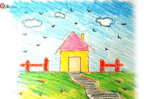 Kid's Artwork Standout Print