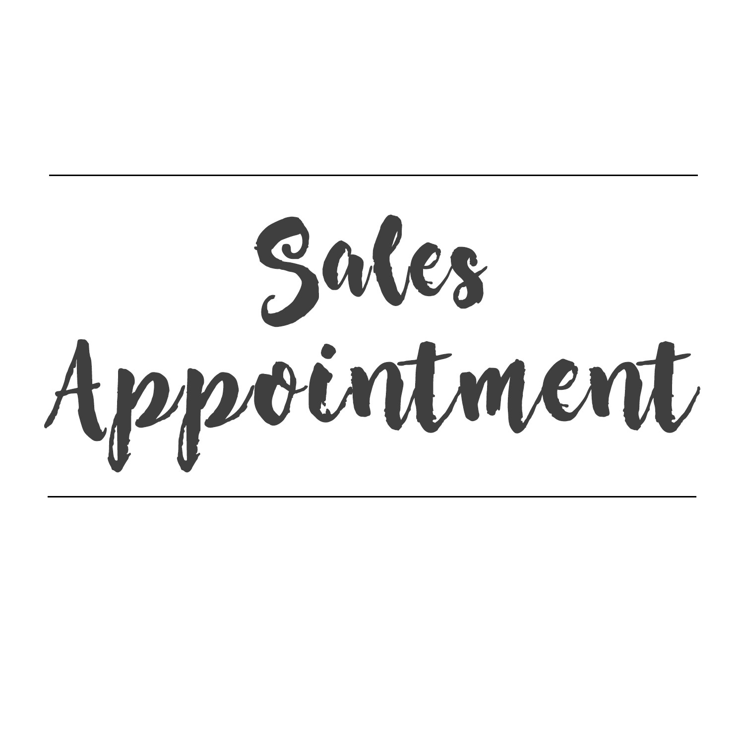 Sales Appointment