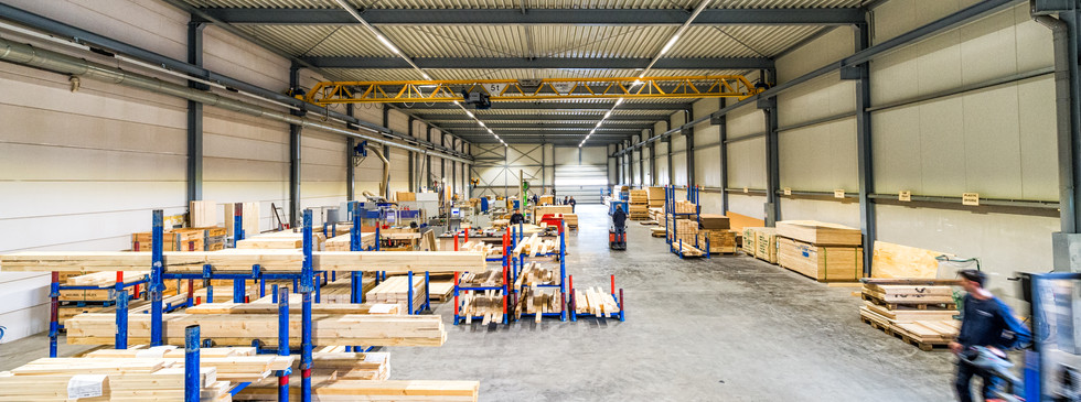 Productieloods Van Doorn export packing