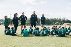 Séance photos de l'Ecole de foot
