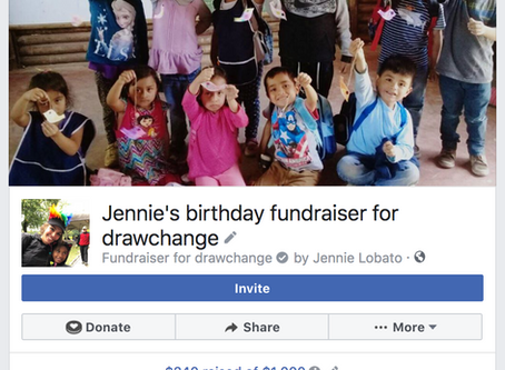 Our Founder Donated Her Birthday To Us!