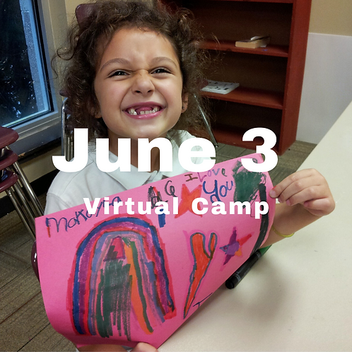 June 3 Virtual Camp