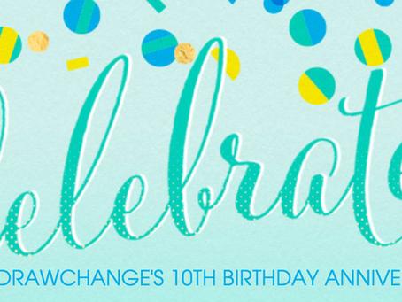Celebrating 10 Years of drawchange Success!