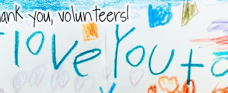 We are so grateful for our volunteers!