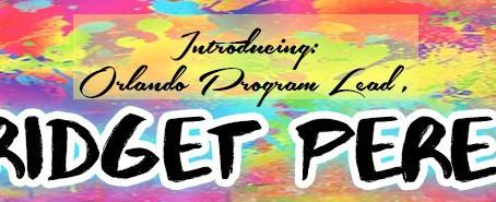 New Program Lead, Bridget Perez!