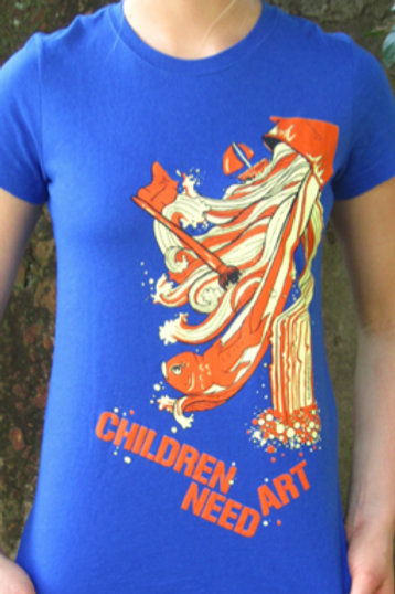 Children Need Art - Limited Edition T