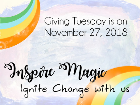 Giving Tuesday Is On 11/27