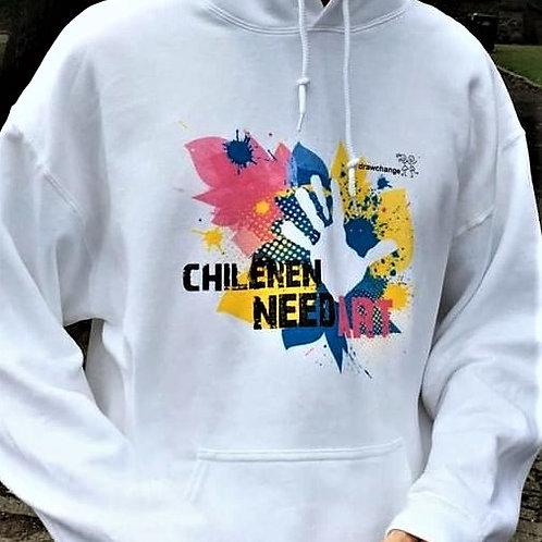 Hoodie - Children Need Art
