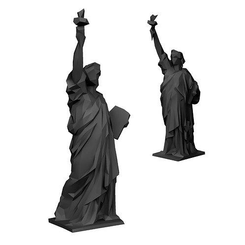 Estátua da Liberdade LOW POLY