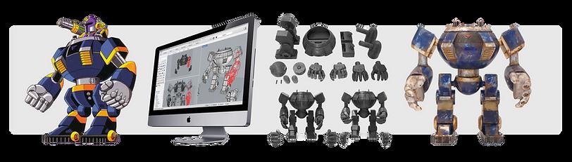 Processo de modelagem 3d para impressão 3d