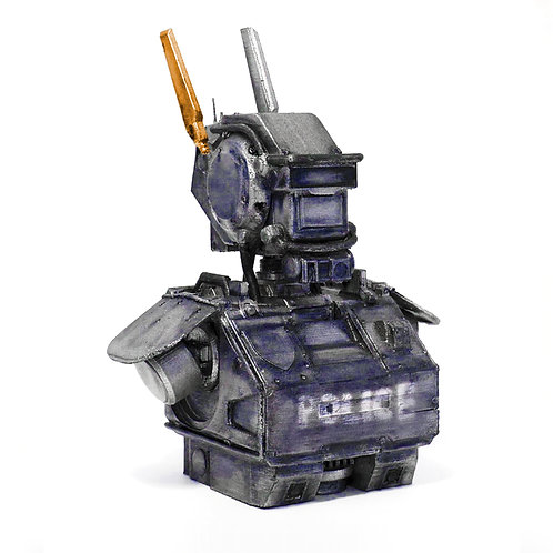 Busto Chappie - Police Droid