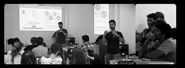 Workshops e palestras sobre Impressão 3d