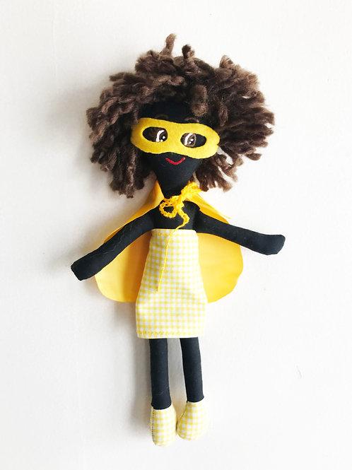 Candelaria, la muñeca +4 stickers y tula